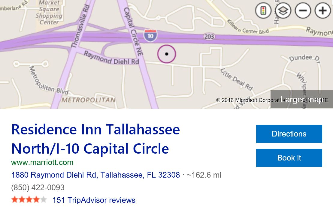map-Residence-Inn-Tallahassee-North-I-10